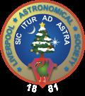 Liverpool Astronomical Society logo