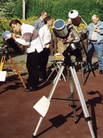 Solar observing at Pex Hill