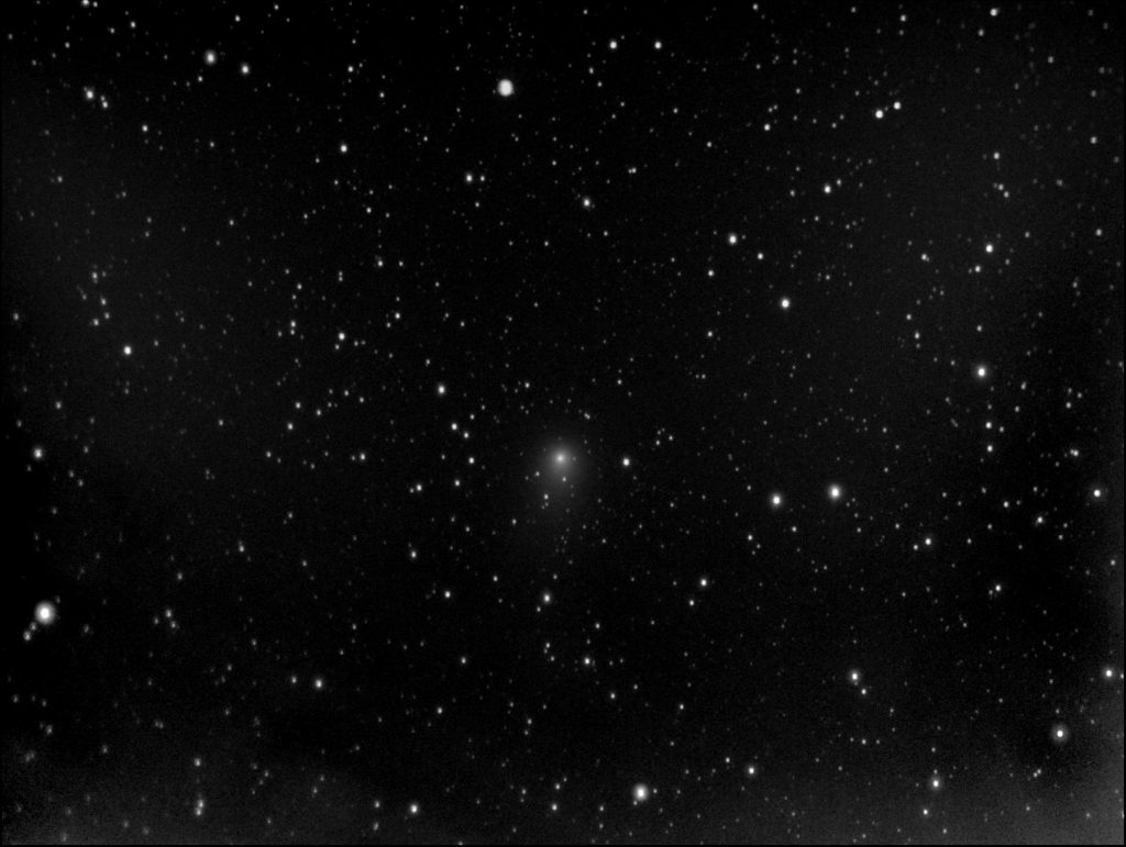 "Comet Garrad, taken 3rd August 2011 with a 10"" f1.5 telescope mainly used for our supernova searches"