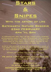 Poster: Sidewalk Astronomy: Stars and Snipes