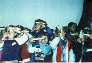 The First Young Astronomers Day, held at Liverpool Museum in March 1988