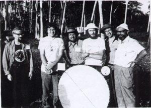 LAS members seen during the Zanzibar Eclipse in 1976