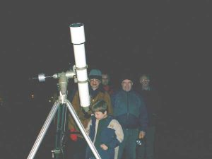 Astronomy is fun for all ages! Croxteth Park Star Party, Saturday/Sunday, February 16th/17th 2002