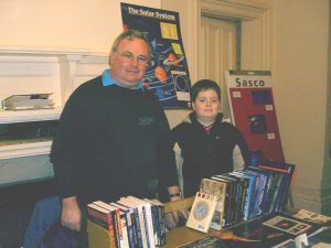 Aurora Books: Second-hand Astronomy Books - Martin Lunn MBE & family. Croxteth Park Star Party, Saturday/Sunday, February 16th/17th 2002