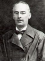 Dr. H. Wichello, President of the Liverpool Astronomical Society during 1923-1925 and 1931-1935