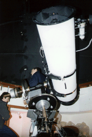 "The 16"" Robertson Newtonian Reflecting Telescope, at Pex Hill"