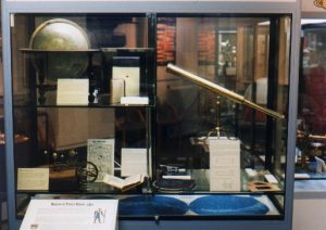 Liverpool's Astronomical History at Prescot Museum's 'Final Frontier' exhibit, July 11th - September 3rd, 2000
