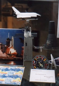 The History of Manned Space Flight, on show at Prescot Museum's 'Final Frontier' exhibit, July 11th - September 3rd, 2000