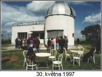 Vlasim Observatory, 30th May, 1997