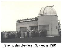 Inauguration of Vlasim Observatory, 13th May, 1961