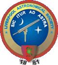 Liverpool Astronomical Society Logo Circa 2000 - Present Day