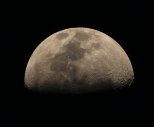 Image of the moon taken by Steve Johnston. Details : 100mm Refractor, 550d camera @ 1/320sec, ISO 100,  29th May 2012 at 20:55