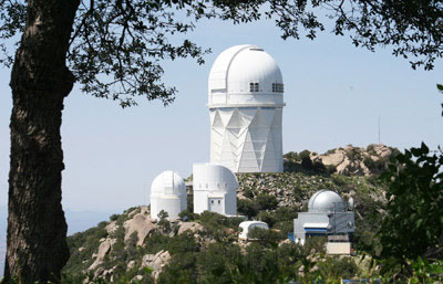 Kitt Peak Observatory, taken in Summer 2008