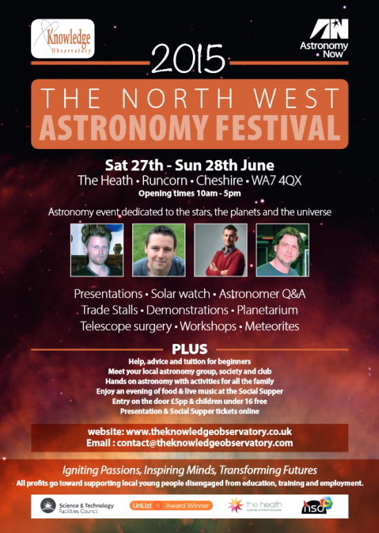 North-West Astronomy Festival 2015