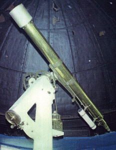 "The 5"" Cooke refractor at the City Observatory, Liverpool Museum, William Brown Street, circa 1998"