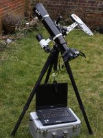 Mark Payne's Astrotrac setup, 28th January 2011