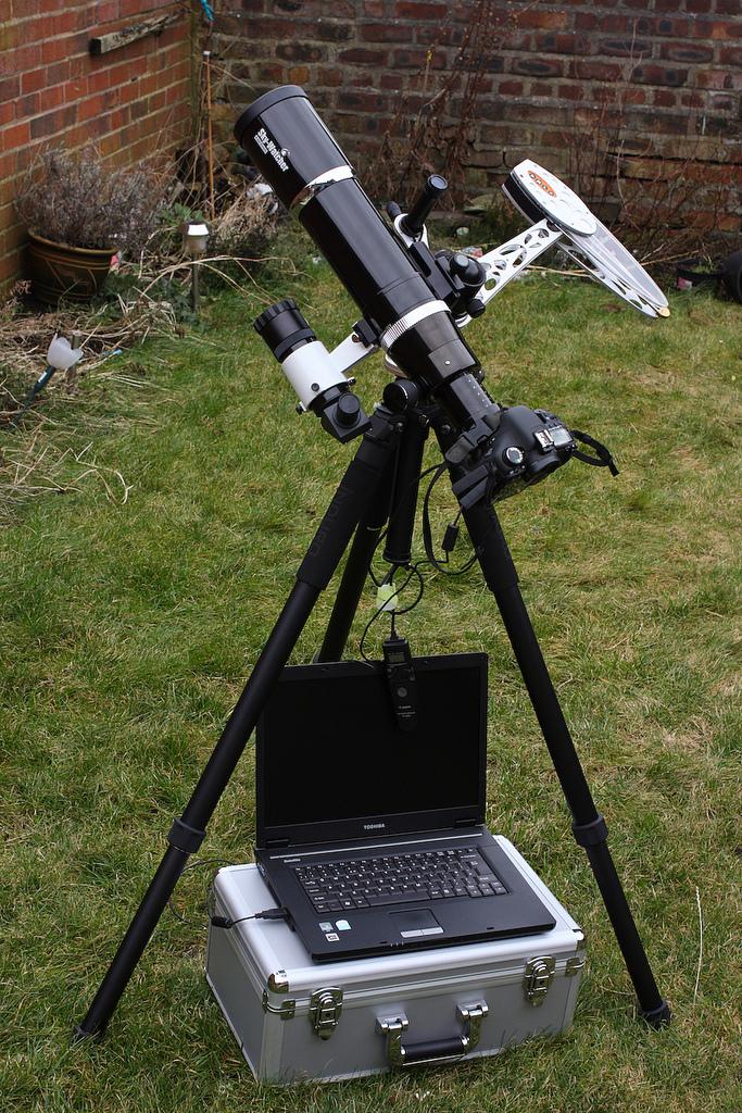 Mark Payne's Astrotrac setup, 28th January 2011