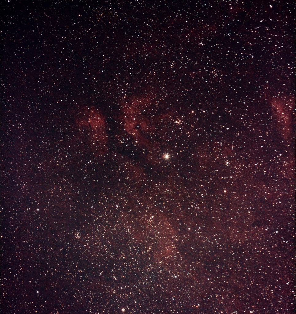 Butterfly Nebula (IC1318) Part of the The Gamma Cygni Nebula located in Cygnus. Shot using an Unmodded 7D with EF 300mm f/4L IS USM mounted to an Astrotrac by Mark Payne, date on or before 28th January 2011