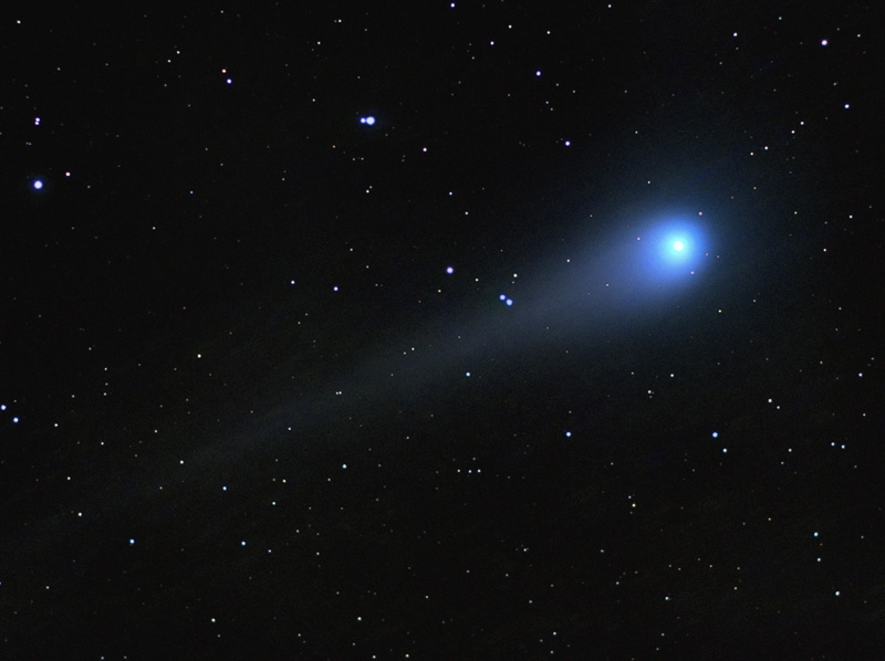 Comet C2007N3 Lulin taken by Rob Johnson with a William Optics 72mm Refractor & Artemis CCD, on or before 10th April 2009