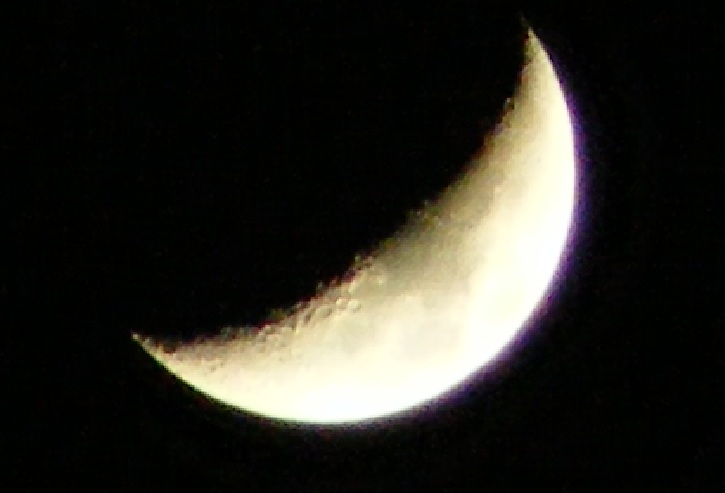 The Moon, taken on 28th March 2012 by Phil Willams