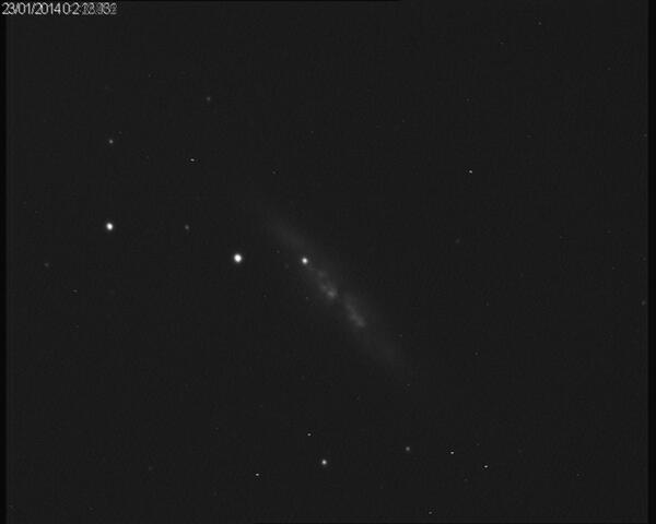 Supernova 2014J in M82 / NGC 3034, imaged by David Galvin and Chris Banks on 23rd January, 2014
