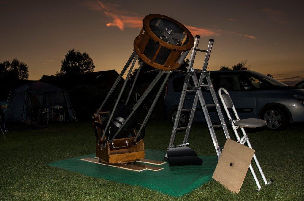 Noel Rimmer's 16-inch Dobsonion Telescope